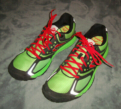NEWTON BOCO AT MEN'S TRAIL RUNNING SHOES LIME GREEN BLACK SIZE 12M Lime Green Running Shoes