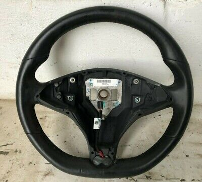 Tesla Model S Steering Wheel Heated Leather Multi Function Controls 1036774-00-C