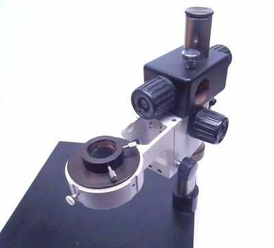 Scienscope Microscope Boom Stand 15x16 W Focus Mount Microscope Ring Mount