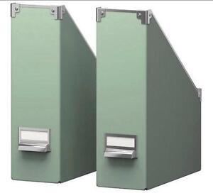 Incroyable Magazine File Storage Boxes