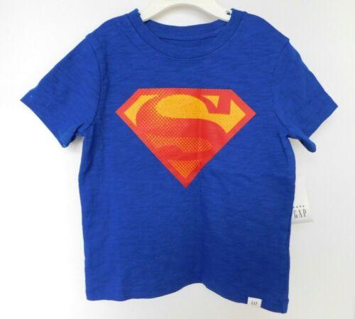 NWT Gap Baby Toddler Boy Superman T-Shirt 18-24M 2 Yrs 3 Yrs 4Yrs New Free Ship