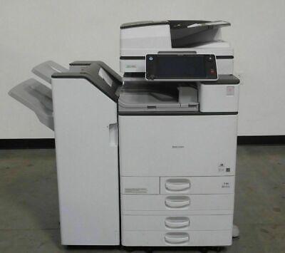 Ricoh Mpc4503 Color Copier Printer Scanner 45 Ppm - Meter Is Low