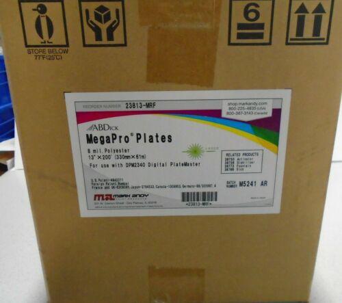 AB Dick Mega Pro Plates for DPM 2340, Part #23813-MRF