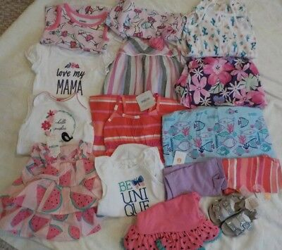 NEW Lot size 12 18 months baby girls Clothes Summer Shorts GYMBOREE swimming NWT