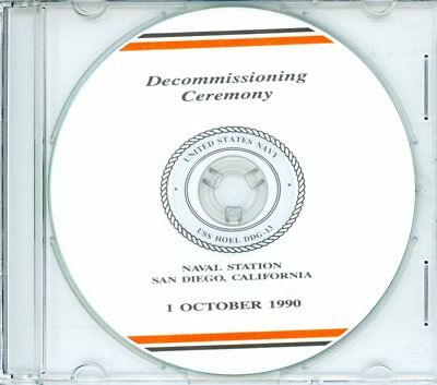 USS Hoel DDG 13 Decommissioning Program 1990 United States Navy