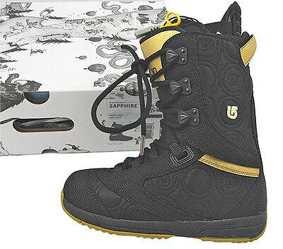 Burton Sapphire Snowboard BOOTS US 5 UK 3 Euro 35 MONDO 22 *black* for sale online