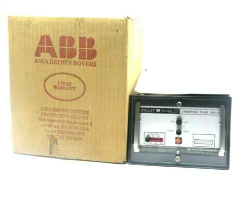 NEW ABB 411R0275 UNDERVOLTAGE RELAY TYPE 27H