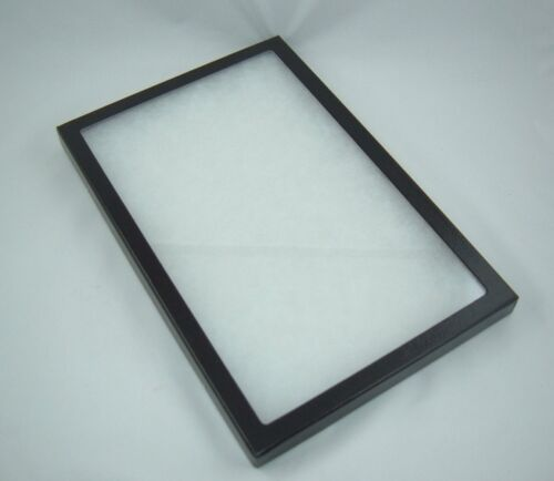"""ONE jewelry display cases riker mount display shadow box collection 8 X12 X 7/8"""""""