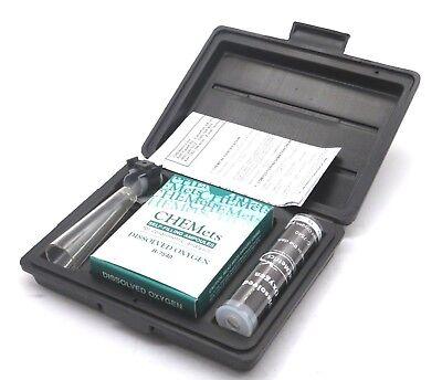 New Chemetrics K-7540 Dissolved Oxygen Test Kit K7540