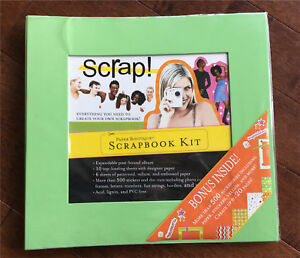 Scrapbook Kit (album, stickers, paper, etc.)
