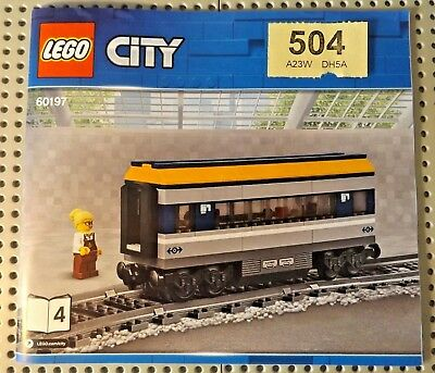 LEGO 4 pieces of rail for 60197 60198 75955 60052 RC Train Track Straight NEW