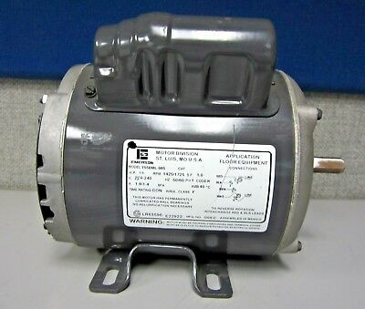 Emerson T55bml-985 Continuous Duty Motor 14hp 14251725rpm 220-240v 1-ph