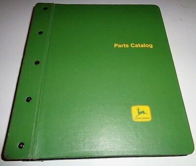 John Deere 55 Combine Parts Catalog Manual In Binder Serial Number Up To 57000