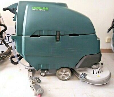 Tennantnobles Ss5 32 In Floor Scrubber New Batteries Reconditioned