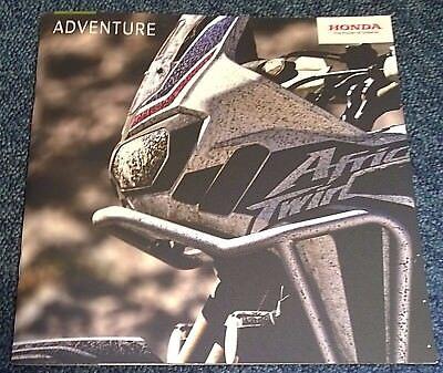 Honda Adventure Brochure 2017 - Africa Twin CRF VFR800/1200X X-ADV NC750X CB500X