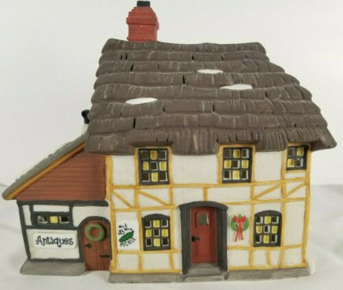 Vintage Dickens Village Mr and Mrs Pickle Cottage 1994 Department 56 (No Box)
