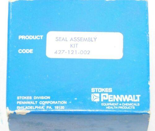 Stokes OEM  Vacuum Pump Seal Kit 427-121-002 New Old Stock