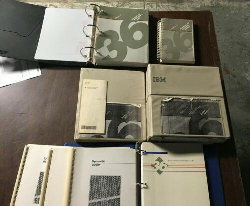 IBM System 36 Manuals Query/36