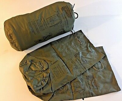 New Unissued Set Of 3 Waterproof Alice Pack Pocket Liners  Size 1