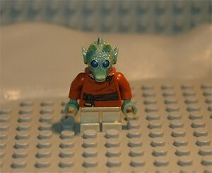 Lego minifig personnage figurine star wars wald neuf ebay - Personnage star wars lego ...