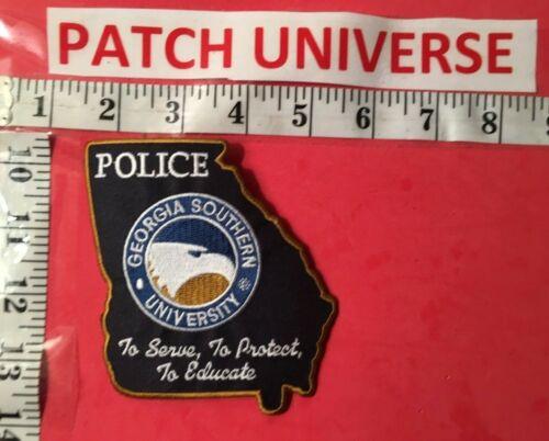 GEORGIA SOUTHERN UNIVERSITY  POLICE SHOULDER  PATCH S098