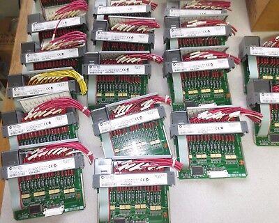 Allen-bradley 1746-ia16 Input Module For Slc500 - Ser. C - 85-132vac - Lot Of 18