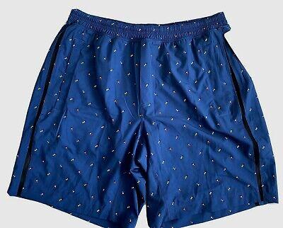 Lululemon Pace Breaker Short Size XL Rope Rappel Angel Wing Rugged $68 Blue