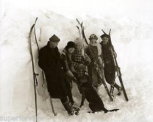 Vintage ski outfit