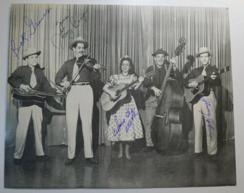Rare Vintage WILMA LEE COOPER Hand Signed AUTOGRAPH Country Western PHOTO