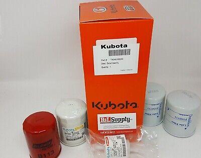 Kubota Filter Maintenance Kit Rtv 1100 Serial 31003 And Up 77700-03307