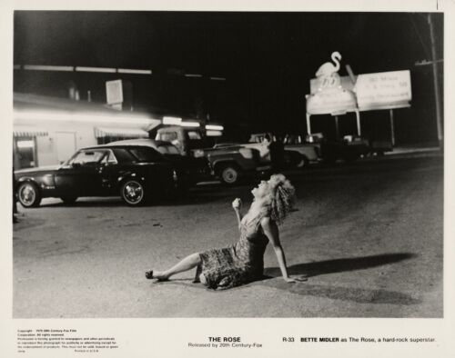 Bette Midler screaming in the street ~ ORIGINAl 1979 photo ~ The Rose