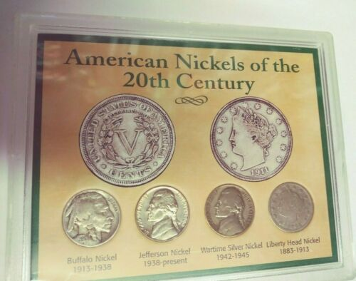 American Nickels of the 20th Century (#US-33)
