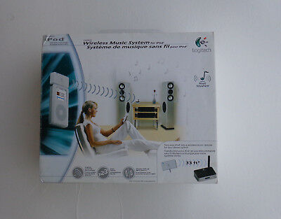 Logitech Wireless Music System (Logitech Wireless Music System for iPod & iPads Any Other Mp3 Player)