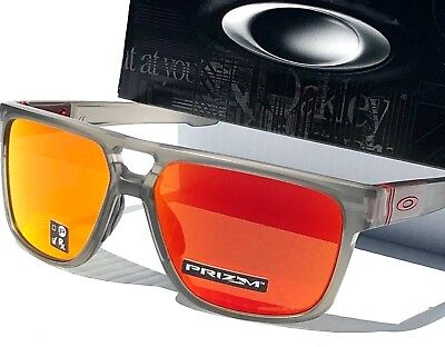NEW* Oakley CROSSRANGE PATCH Grey ink Ruby PRIZM Sunglass 9382-05 Dispatch 2 for sale  Shipping to Canada
