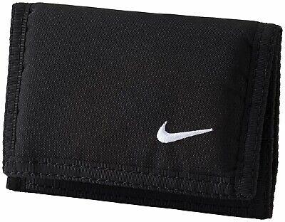 Nike Geldbeutel Geldbörse Basic Wallet schwarz (Wallet 9 Karten-halter)