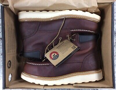 """Red Wing Irish Setter Men's Ashby 6"""" Aluminum Toe Work Boots 83606 Size 10.5 NEW"""