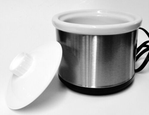 WHITE Pickle Pot for Pickling Compound Solution Jewelry Soldering Pickler 16 oz