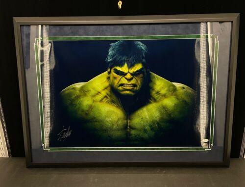 Stan Lee Hulk Signed Framed Autographed Poster Excelsior Approved JSA LOA Marvel