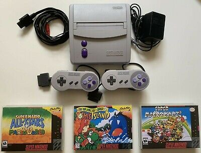 Super Nintendo Mini Jr Super Mario World Kart Yoshi's Island SNES (SNS-001)