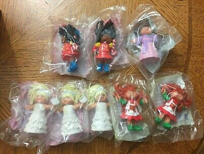Cabbage Patch Kids Dolls 1994 McDonalds - Lot Of 8 - New In Package #1-4