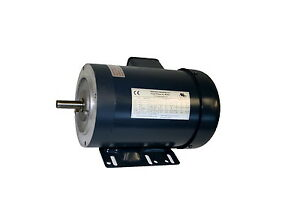 AC MOTOR, 1.5HP, 1725RPM, 3PH, 208-230V/460V,  56C/TEFC, WITH BASE