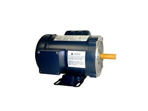 Ac Motor 1 5hp 1725rpm 1ph 115v 208 230v 56c Tefc With