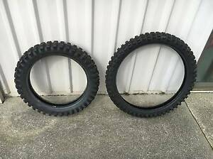 "Rare 23"" Dirtbike Tyres/ Knobblies/ Trailbike-Honda Xl,XR. Shearwater Latrobe Area Preview"