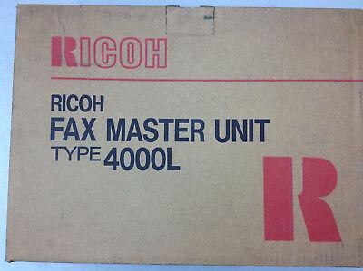 New Ricoh Fax Master Unit Type 4000l