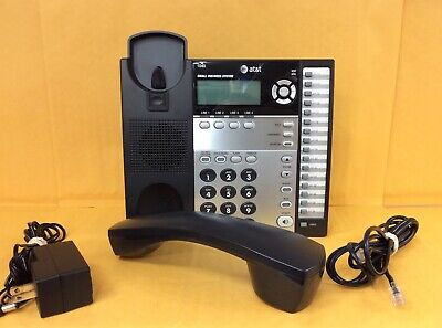 Att 1040 4-line Small Business Office Corded Phone System With Speakerphone