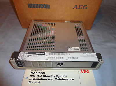 Modicon As-s911-801 Hot Standby Control Module Processor Ass911801 New