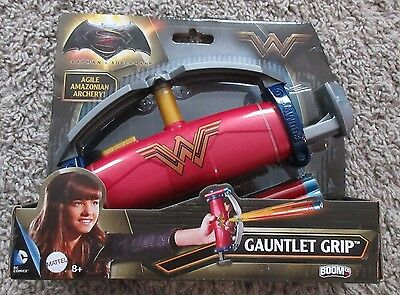 BATMAN VS SUPERMAN WONDER WOMAN GAUNTLET GRIP ARCHERY DC NEW COSTUME DRESS UP  - Wonder Woman Costume Batman Vs Superman