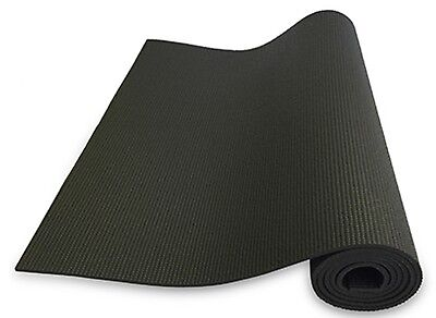 nama stayfit Foam Black Yoga Mat 1/4 Inch 72 Inch Long 24 Inch Wide