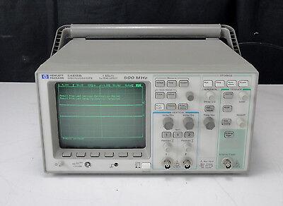 As-is - Agilent Hp 54615b 2 Channel Oscilloscope 1 Gsas 500 Mhz