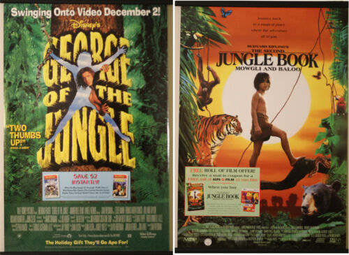 Movie Poster Lot 3 ( 2 Posters ) Rolled